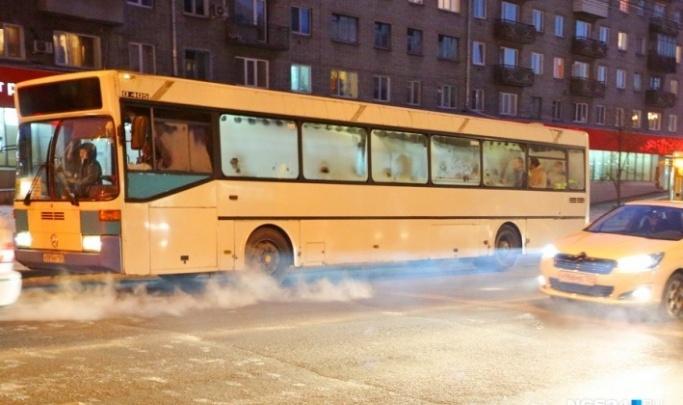Муниципального перевозчика поймали на излишне дымящих автобусах