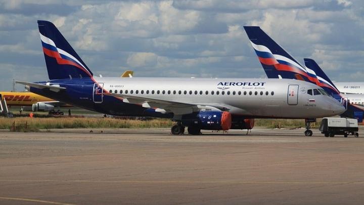 «Суперджет» «Аэрофлота» не смог вылететь из Ростова из-за поломки