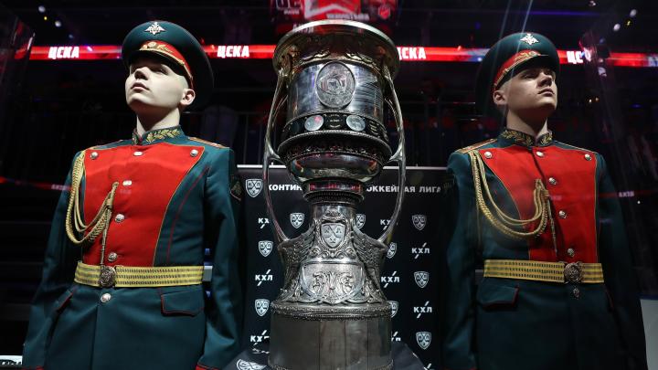 В Омск привезут Кубок Гагарина