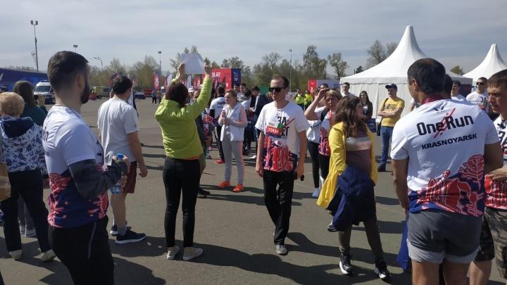 Сотни горожан пришли на о. Татышев ради забега от 5 до 21 километра