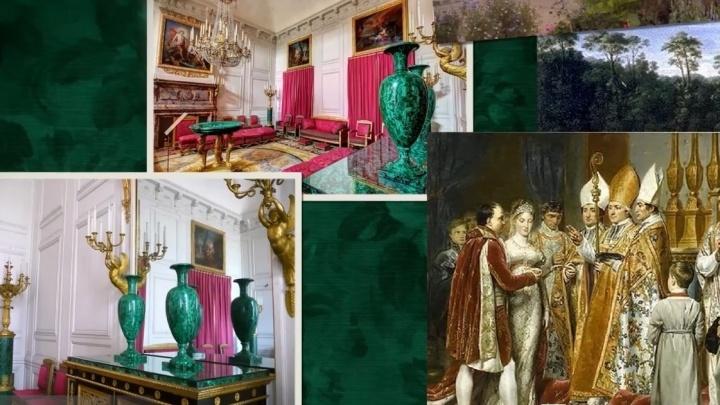 Екатеринбуржцы сняли сериал о том, как уральский малахит дарили Наполеону и Папе Римскому