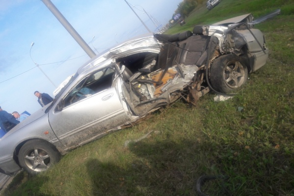 В аварии сошлись четыре машины