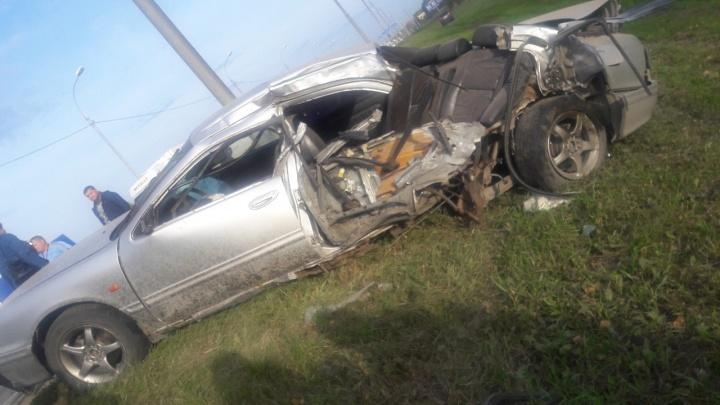 Массовая авария на Омском тракте: в выехавшей на встречку «Камри» погиб водитель