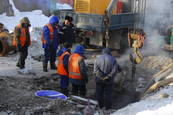 Снижение давления холодной воды могут почувствовать и в центральной части города Бердска