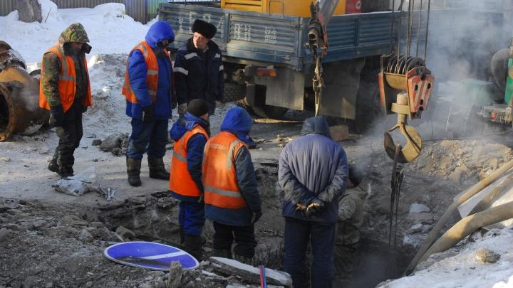 В Бердске из-за аварии без воды остались 6 высоток