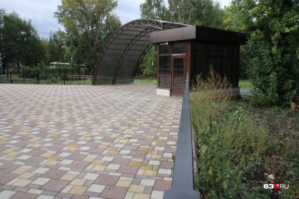 Реконструкция Ботанического сада идет больше года