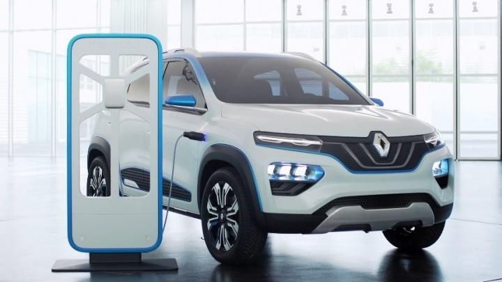 Renault планирует вывести бюджетный электрокар City K-ZE на европейский авторынок