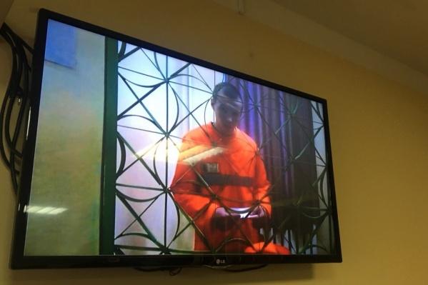 Евгений Макаров на заседаниях суда присутствовал по видеосвязи