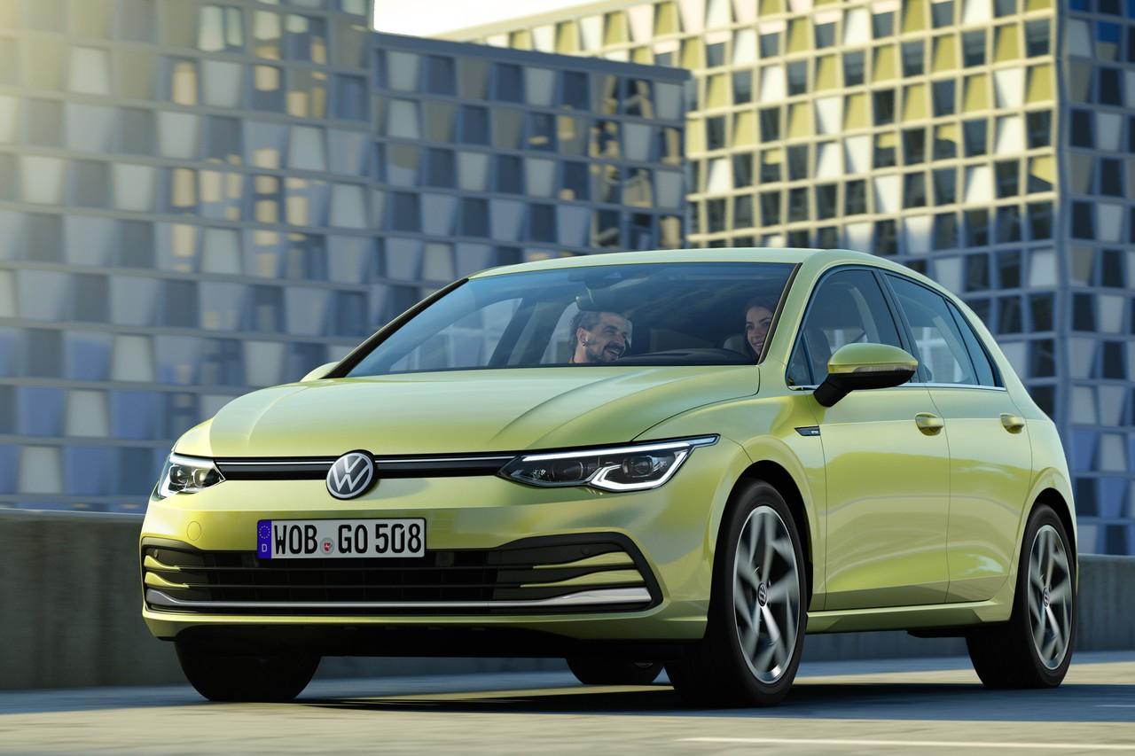Volkswagen придал взгляду Golf немного хитрецы