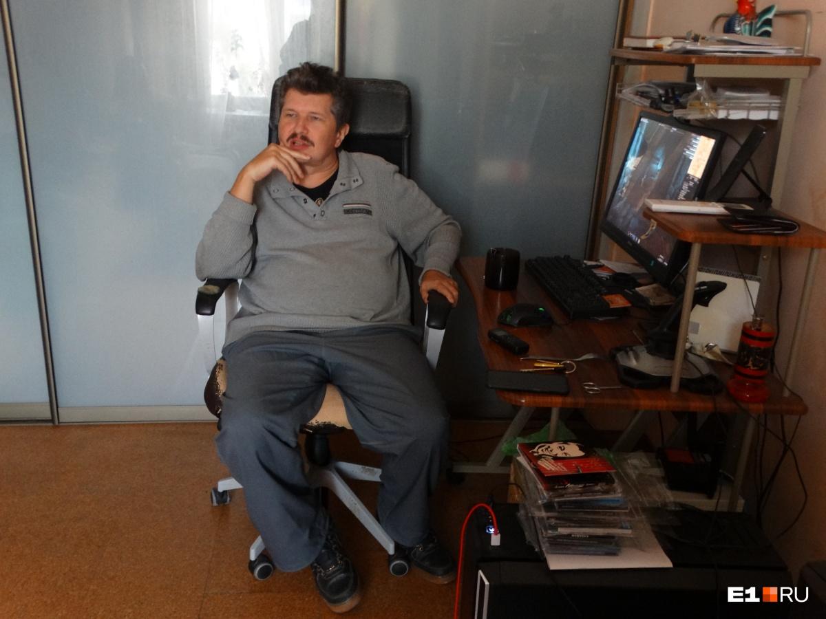 Программист Сергей Чечиков был заперт в горящей квартире
