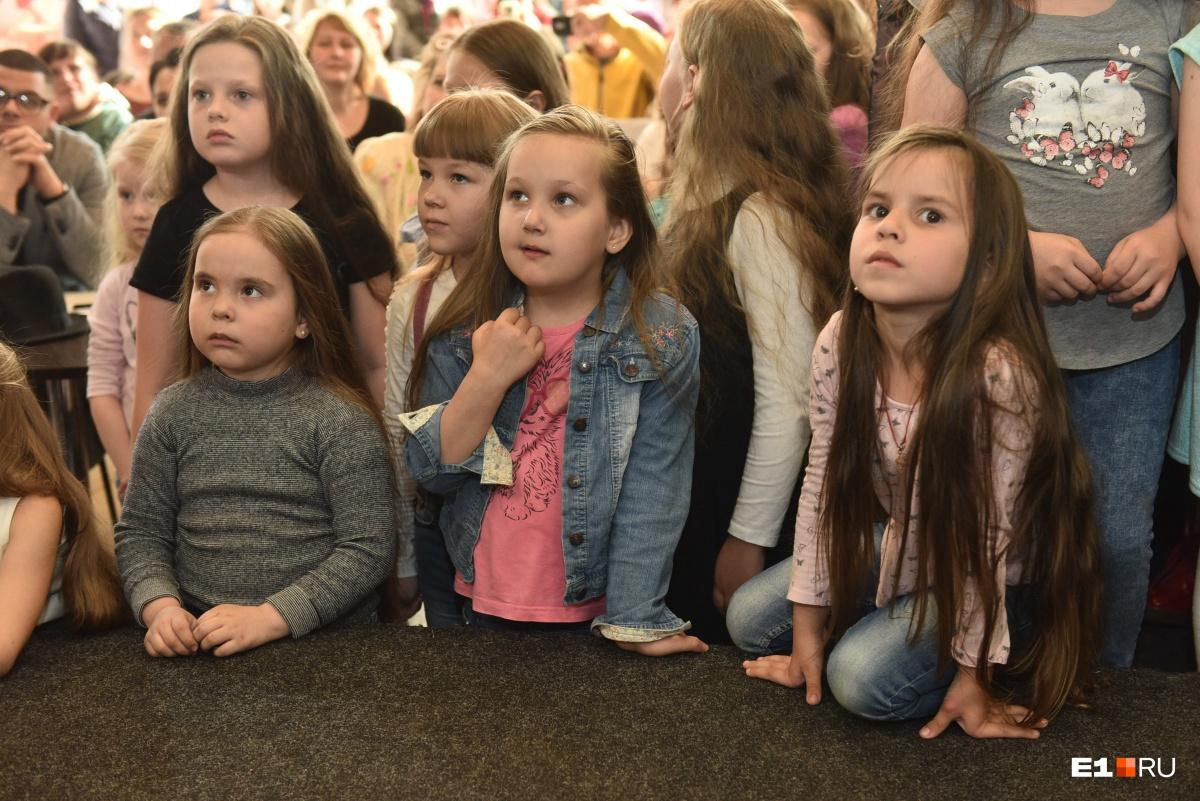 В конкурсе могут участвовать девочки в возрасте от пяти лет