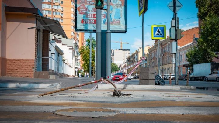На трёх улицах Ростова ограничат движение