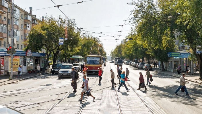 Пробки станут больше? На перекрестке улиц 8 Марта и Фрунзе построят трамвайные остановки