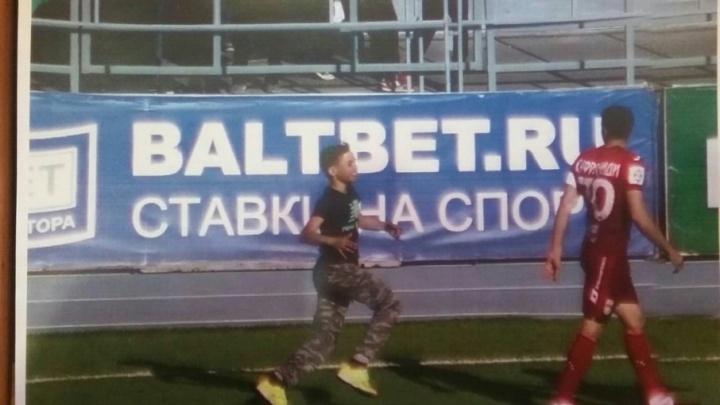 После матча ФК «Уфа» — «Тосно» полиция задержала троих подростков
