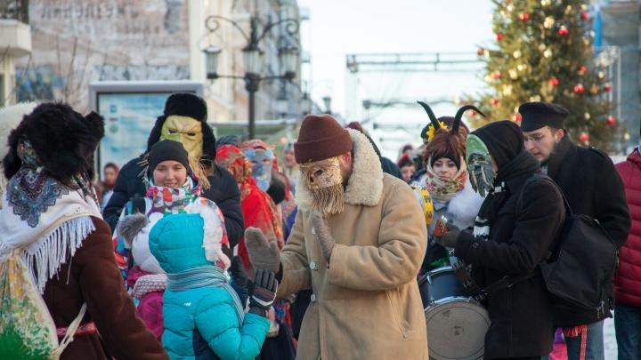 С масками и гремелками: самарцев приглашают колядовать на Ленинградскую в эту субботу