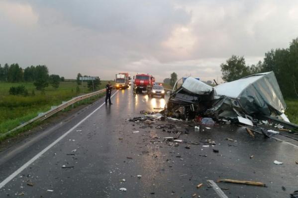 Смертельная авария произошла в Болотнинском районе Новосибирской области