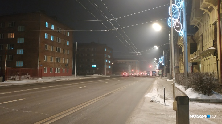 В разгар НМУ Красноярск оказался на 4-м месте по загрязнению воздуха в мире