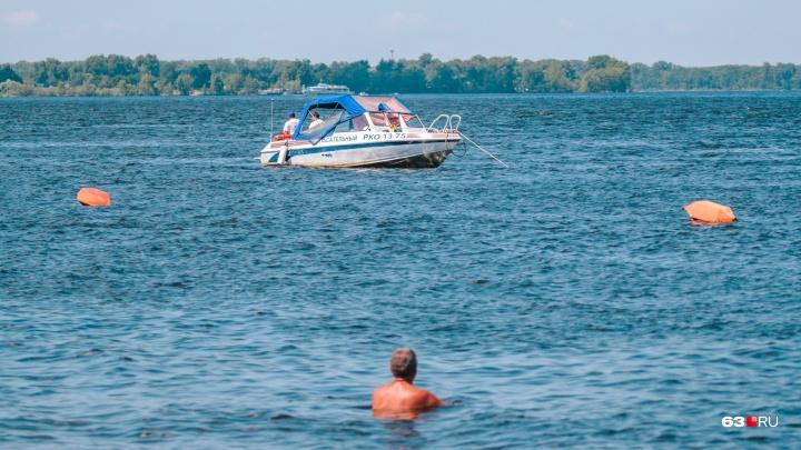 «Пейте меньше!»: сотрудники МЧС провели ликбез по плаванию на самарских пляжах