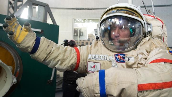 Полёт екатеринбуржца в космос покажут в прямом эфире в «Салюте»