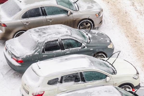 Платные парковки хотят сделать в центре Самары