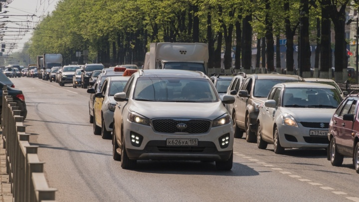 В Перми на выходные перекроют движение по Комсомольскому проспекту