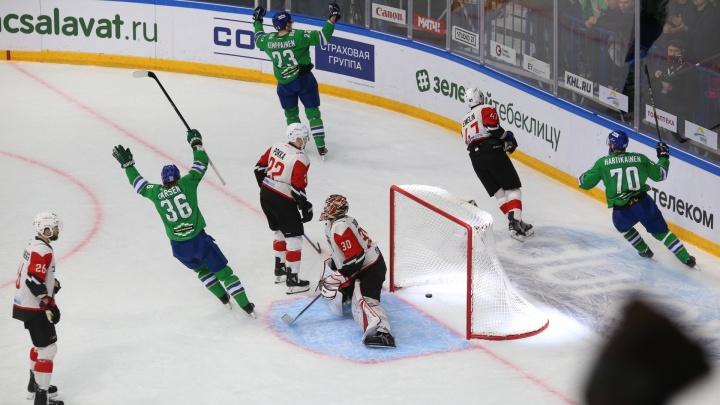 Без права на ошибку: «Салават Юлаев» сыграет с омским «Авангардом» на льду «Уфа-Арены»