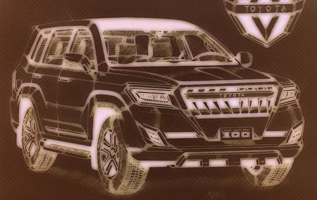 Груз 300. Что известно о новой Toyota Land Cruiser, котораяещё ни разу не засветилась на фото