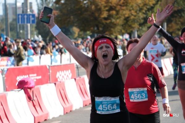 Многим участие в марафоне дает эмоции и спортивный задор на весь год