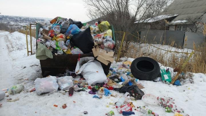«Вывозят раз в несколько дней»: волгоградцы продолжают жаловаться на работу «мусорного» оператора