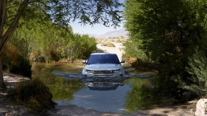 Абсолютно новый Range Rover Evoque украсит улицы города
