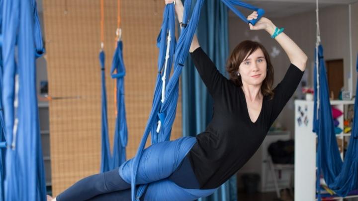 Бизнес в декрете: челябинка отказалась от карьеры телеведущей и начала парить в воздухе