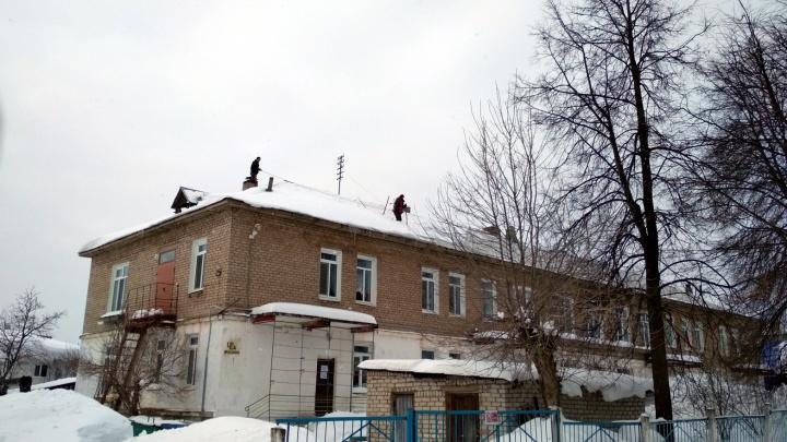 Мальчика, пострадавшего в Верещагино от схода снега с крыши садика, перевели в пермскую больницу
