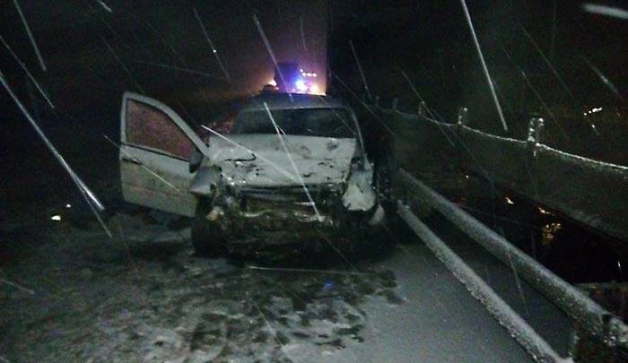 В массовой аварии на трассе в Башкирии погиб человек
