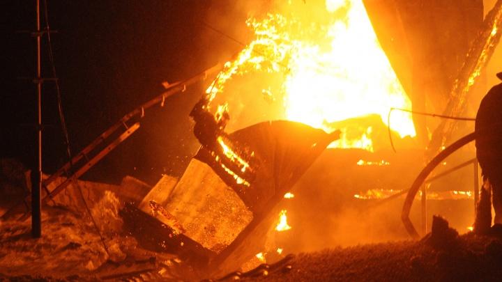 Трое сгорели в частном доме Казачинского района
