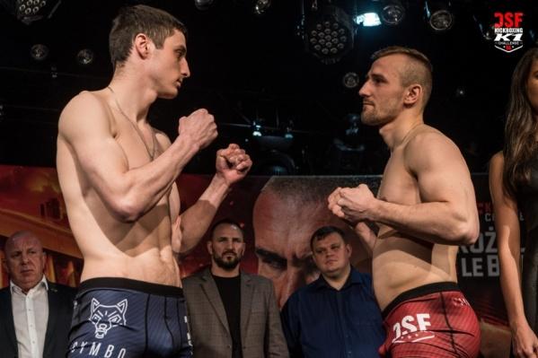 За изобретательность и техничность судьи единогласно отдали победу челябинцу Виктору Михайлову (слева)