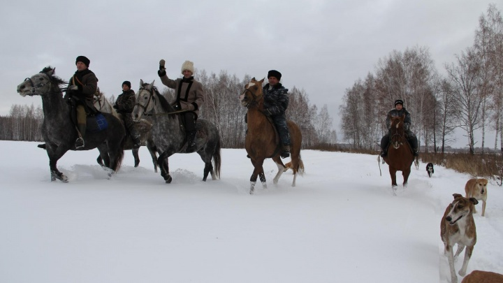 На охоту в Тюменскую область