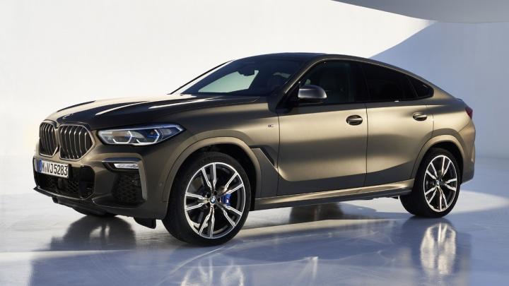 BMW показала новый X6: он откликается на «Эй, BMW», а в ноздри вставили подсветку