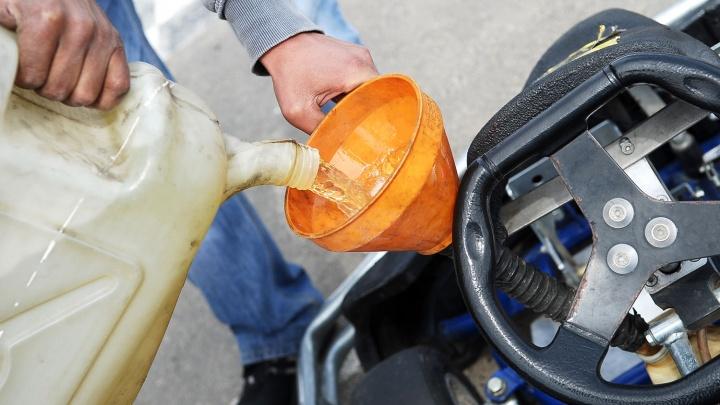 Минфин отказался спасать цены на бензин