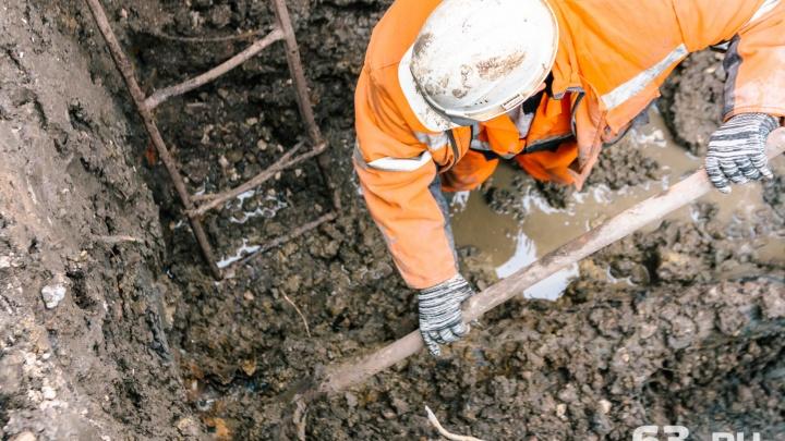 В Самаре целый поселок остался без воды из-за реконструкции Заводского шоссе