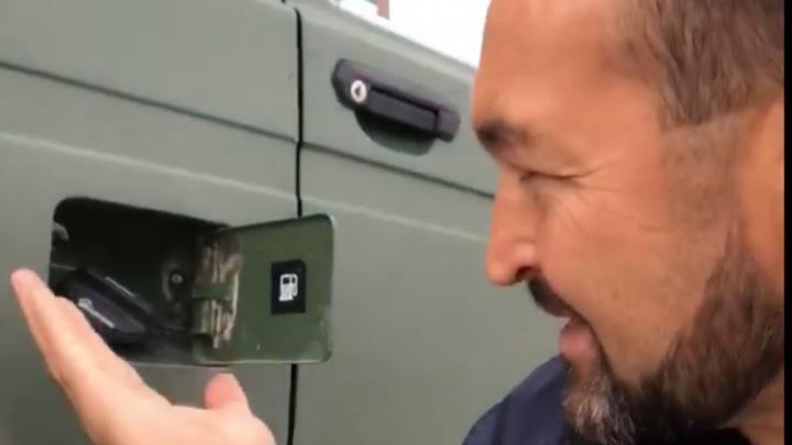 «Пришлось заняться физкультурой»: челябинский силач Эльбрус Нигматуллин стал жертвой автоворов