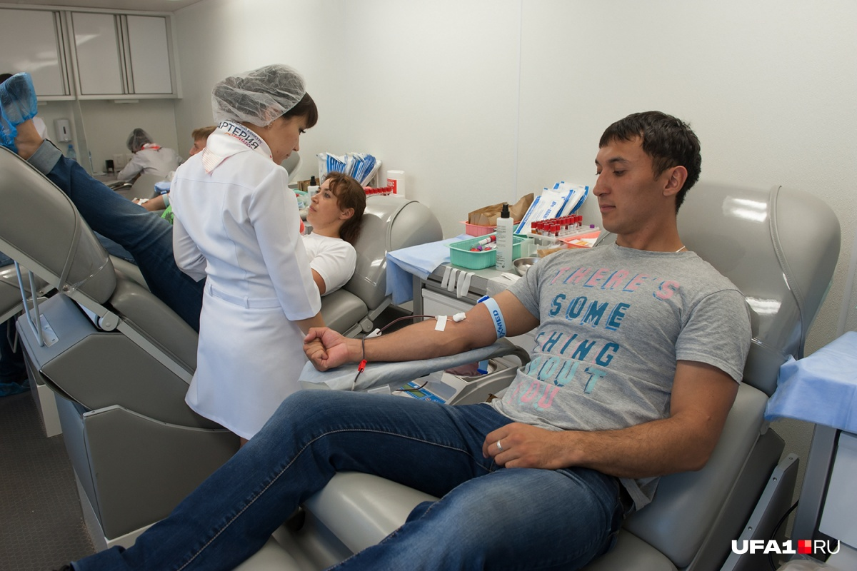 За акциями приходится следить на сайтах регистров доноров
