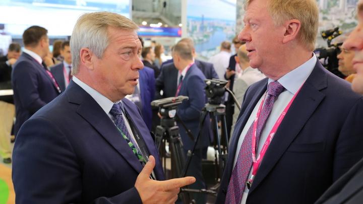 Правительство Ростовской области заключило на выставке «Иннопром-2019» контракты на 1 млрд рублей