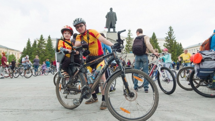 С представлением на старте и лотереей на финише: 26 мая велосипедисты проедут по Кургану колонной
