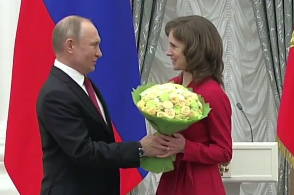 Церемония награждения прошла в Кремле