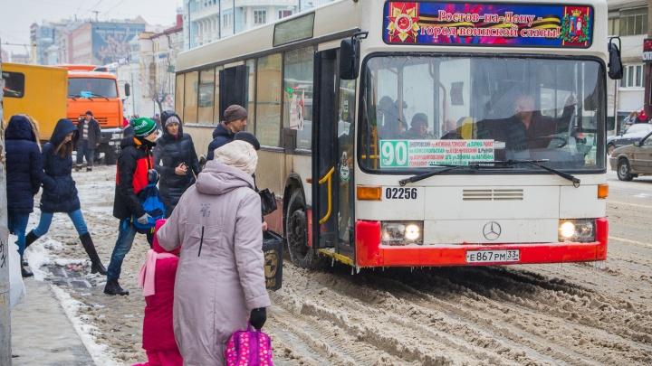 Автобусы из Батайска пустят по Ворошиловскому проспекту в начале следующего года