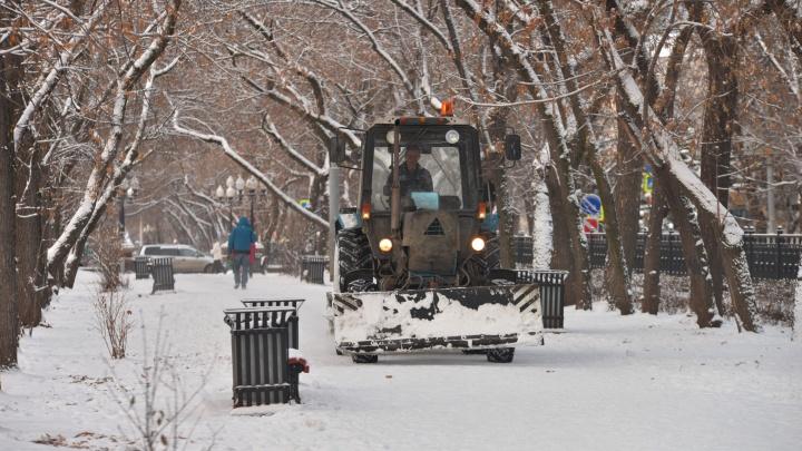 В районе ЦПКиО водителям на три дня запретят парковаться на время уборки снега