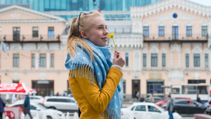 Гуляйте все: на неделе в Екатеринбурге потеплеет до +16 градусов
