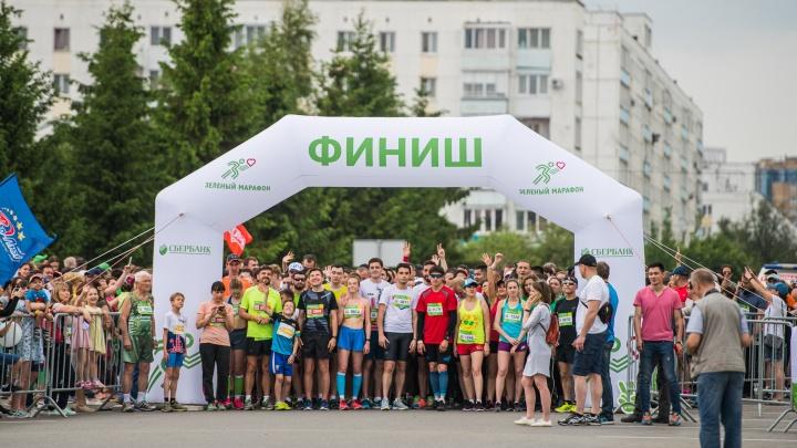Сильные духом: семь тысяч уфимцев приняли участие в «Зеленом марафоне» от Сбербанка