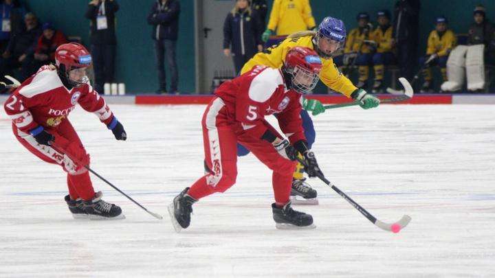 Четыре уральские спортсменки в составе сборной России завоевали серебро Универсиады в хоккее с мячом