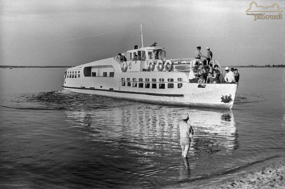 В июльский день на озере Калды. 1965 год